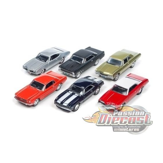 1:64 MUSCLE CARS USA - RELEASE 2D JLMC002D johnny lightning passion diecast