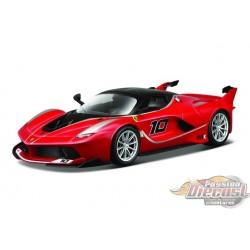 1/64 Ferrari FXX K NO10  Rouge BU-18-16010 BURAGO PASSION DIECAST