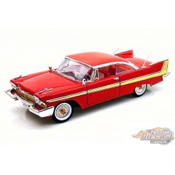 1/18 Plymouth Fury 1958 RED MM-73115RD MOTORMAX PASSION DIECAST