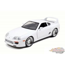 1/18 FAST & FURIOUS   BRIAN'S TOYOTA  SUPRA 1996  White JD-97509 JADA PASSION DIECAST