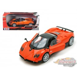 1/18 Pagani Zonda F ORANGE MMX-79159OR MOTORMAX PASSION DIECAST