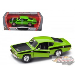 1/18 Plymouth Barracuda 1969 VERT 92179 ROAD SIGNATURE PASSION DIECAST