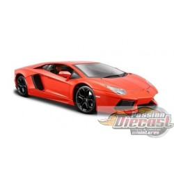 1/18 LAMBORGHINI AVENTADOR LP700 ORANGE WL-18041OR WELLY PASSION DIECAST