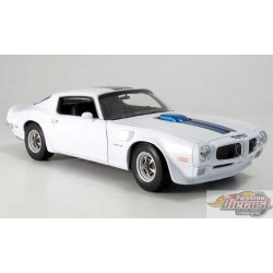 1/18 1972 PONTIAC FIREBIRD TRANS AM BLANC WL-12566WH WELLY PASSION DIECAST