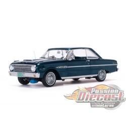 1963 Ford Falcon Hard Top Oxford Blue -  Sunstar 1/18 - 4543 - Passion Diecast