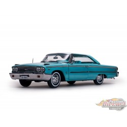 1/18 1963 Ford Galaxie 500 XL Hardtop Blue SS-1466 SUNSTAR PASSION DIECAST