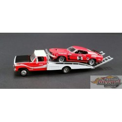 Allan Moffat Racing - Ford F-350 Ramp Truck NO 9 1969 Trans Am Mustang - Acme Exclusive ACME 1/64  GL-51139  Passion Diecast
