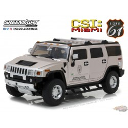 Hummer H2 2003  CSI Miami Highway 61 18006 1/18 Passion Diecast