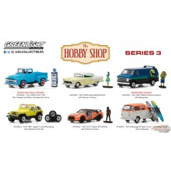 1/64 The Hobby Shop Series 3 Assortiment  Greenlight 97030 PASSION DIECAST