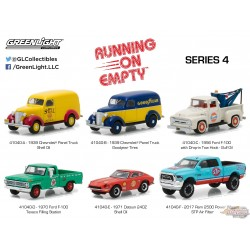 1/64 Running on Empty 4  ASSORTIMENT GL-41040 GREENLIGHT PASSION DIECAST