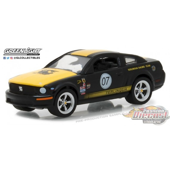Greenlight 1/64 2008 Ford Mustang Terlingua Racing Team NO07 (Hobby  Exclusive)
