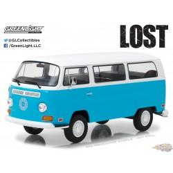 1/24 Lost (TV Series, 2004-10) - 1971 Volkswagen Type 2 (T2B) Dharma Van GL-84033 GREENLIGHT PASSION DIECAST
