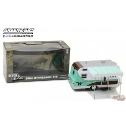 1/24 Hitch and Tow Series 3 - 1964 Winnebago 216 GL-18430B GREENLIGHT PASSION DIECAST