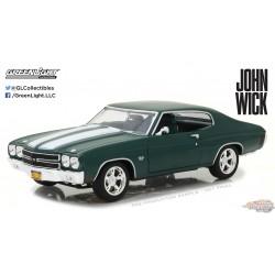 1/18 John Wick (2014) - 1970 Chevrolet Chevelle SS 396 GL-13505 greenlight passion diecast