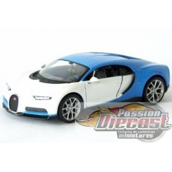1/24 2016 Bugatti Chiron BLANC Mai-32509WH MAISTO EXOTICS PASSION DIECAST
