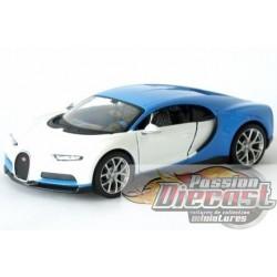 1/24 2016 Bugatti Chiron WHITE Mai-32509WH MAISTO EXOTICS PASSION DIECAST