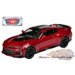 1/24 2017  CHEVY CAMARO ZL1 Rouge MMX-79351RD MOTORMAX PASSION DIECAST