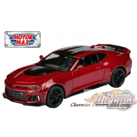 motormax 1 24 2017 chevy camaro zl1 mmx 79351rd. Black Bedroom Furniture Sets. Home Design Ideas