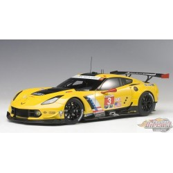 1/18 CHEVROLET CORVETTE C7R TEAM CORVETTE RACING N 3 AA-81607 autoart passion diecast