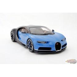 Bugatti Chiron 2016 blue / dark blue 1:18 Bburago 18-11040  Passion Diecast