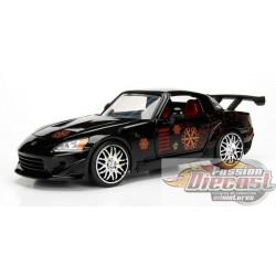 1/24 Johnny's 2001 Honda S2000 Noir Fast & Furious JD-99541 jada passion diecast