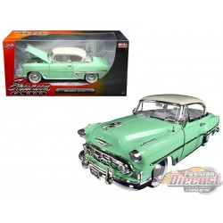 1/24 1953 Chevrolet Bel Air Vert JD-98884 jada passion diecast