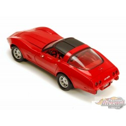 1/24 1979 Chevy Corvette ROUGE MMX-73244 motormax passion diecast