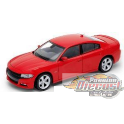 1/24 2016 Dodge Charger Red WL-24079RD welly passion diecast