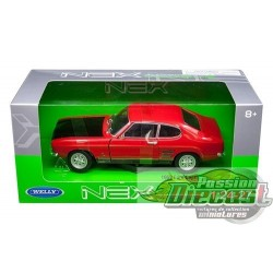 1/24 1969 Ford Capri Rouge WL-24069RD welly  passion diecast
