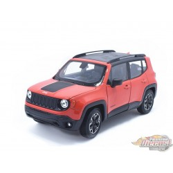 1/24 Jeep Renegade Orange WL-24071OR welly passion diecast