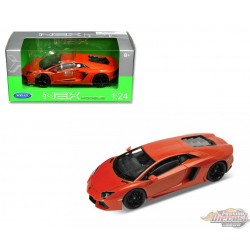 1/24 LAMBORGHINI AVENTADOR LP700-4 Orange WL-24033OR welly passion diecast