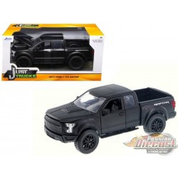 1/24 2017 Ford F-150 Raptor Noir JD-98582 jada passion diecast