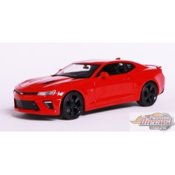 Chevrolet  Camaro  2016 Red - Maisto 1/18 -  31689 - Passion Diecast