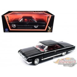 1/18 1964 MERCURY MARAUDER Noir  RS-92568BK road signature passion diecast