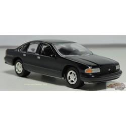 1/64 1996 Chevy Impala SS Black JLSP006A johnny lightning passion diecast
