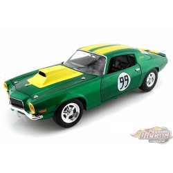 1/18 1970 The Dukes of Hazzard Cooter's 1970 Chevy Camaro Hard Top JL-21958P Johnny L PAssion diecast