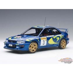 1/18 SUBARU IMPREZA WRC 1997 NO3 COLIN MCRAE/NICKY AA-89790 AUTOART PASSION DIECAST