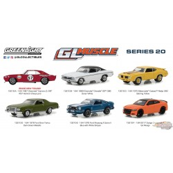 1/64 GreenLight Muscle Series 20  Assortiment GL-13210 greenlight passion diecast