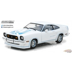 1/18 1978 Mustang King Cobra Blanc GL-13508 greenlight passion  diecast