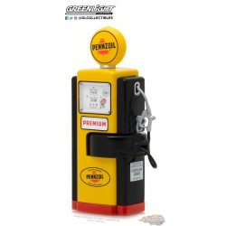 1/64  1948 Wayne 100-A Gas Pump Pennzoil Supreme Quality Safe Lubrication GL-14040A greenlight passion diecast