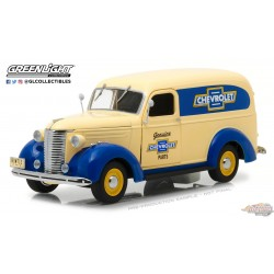 1/24 Running on Empty -  1939 Chevrolet Panel Truck Genuine Chevrolet Parts GL-18242 greenlight passion diecast