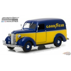 1/24  1939 Chevrolet Panel Truck Goodyear Tires GL-18243 greenlight passion diecast