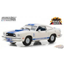 1/43 Charlies Angels (1976–1981 TV Series) 1976 Ford Mustang Cobra II GL-86516 greenlight passion diecast