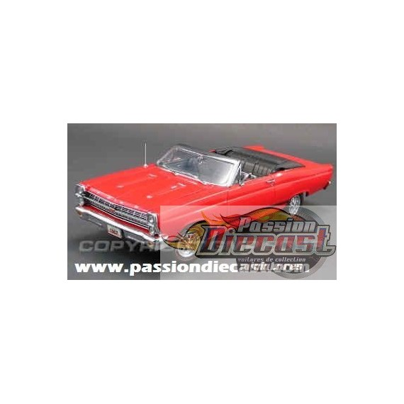 1/18 GMP 1967 Ford Fairlane GT  Red  Convertible Passion diecast a1801112