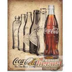 COKE - The Real Thing Cents TIN SIGN COKE - The Real Thing   DES-2252 Passion diecast   desperate
