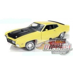1970 Ford Torino Cobra (Hemmings Muscle Machines)  1/18  amm1049 autoworld  passiondiecast