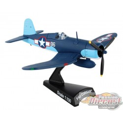 VOUGHT  F4U CORSAIR PAPPY BOYINGTON #86 VMF POSTAGE STAMP 1/100  PS5356-2 Pasion Diecast
