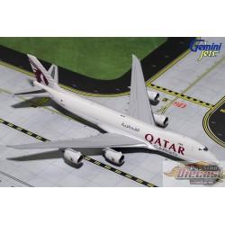 QATAR CARGO  Boeing 747-8F  REG#A7-BGB  Gemini Jets 1/400 GJQTR1720  Passion Diecast