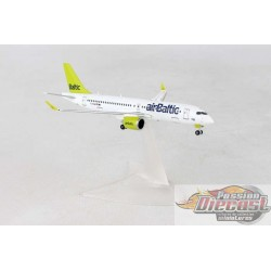 AIR BALTIC  Bombardier CS300   reg#YL-CSA  Herpa Wings  1/400  #HE562607 Passion Diecast