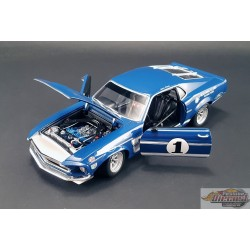 1969 Mustang Boss 302 Trans Am - Sam Posey - Lime Rock Winner ACME 1/18  A1801819  Passion Diecast